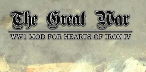 WW1を再現したHoI4総合MOD「Hearts of Iron IV: The Great War