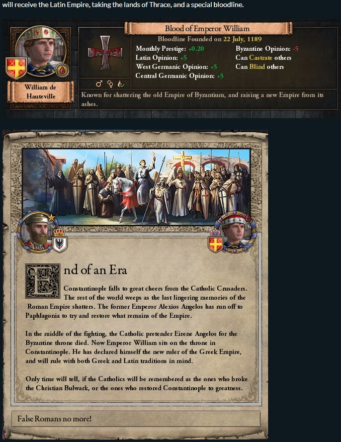 Crusader Kings II」開発日記#93――ヴェネツィア人の狡猾さ